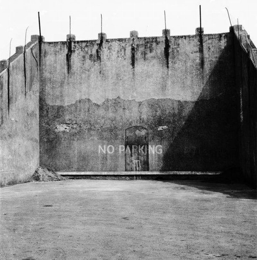 View of Nelson Handball Court taken 1965. Image/Llun: DI2009_0719