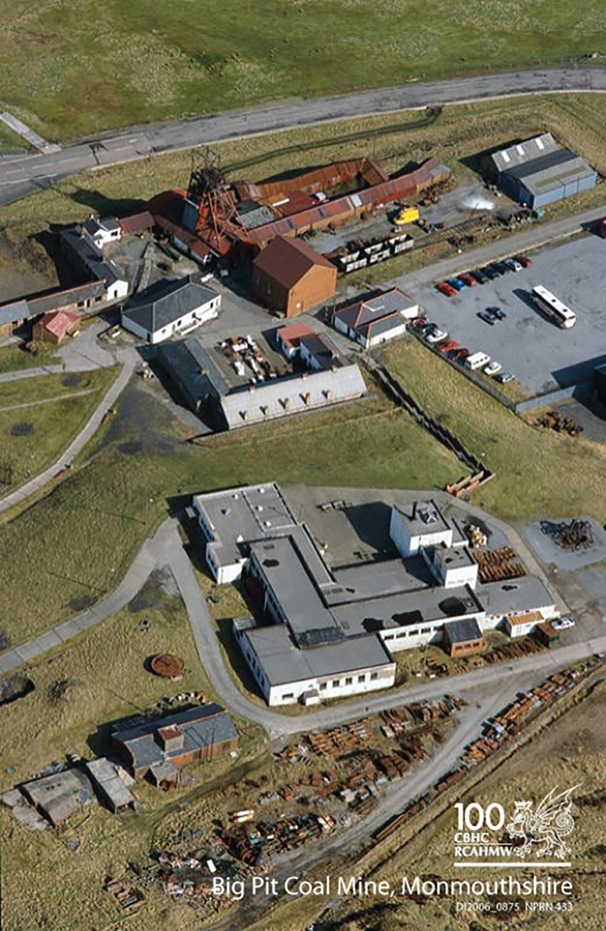 Pwll Glo Big Pit, Sir Fynwy DI2006_0875 NPRN 433