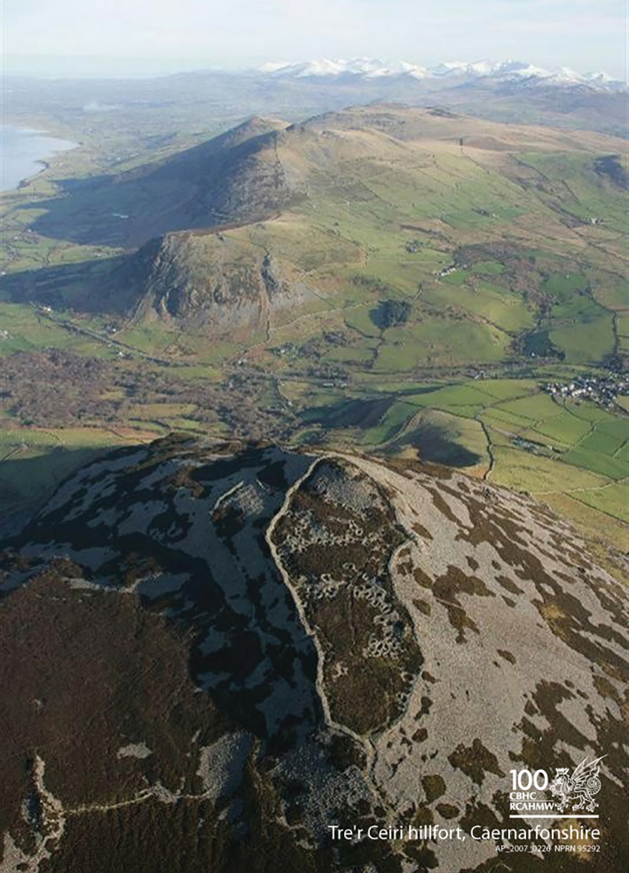 Tre'r Ceiri hillfort, Sir Gaernarfon, AP_2007_0226 NPRN 95292