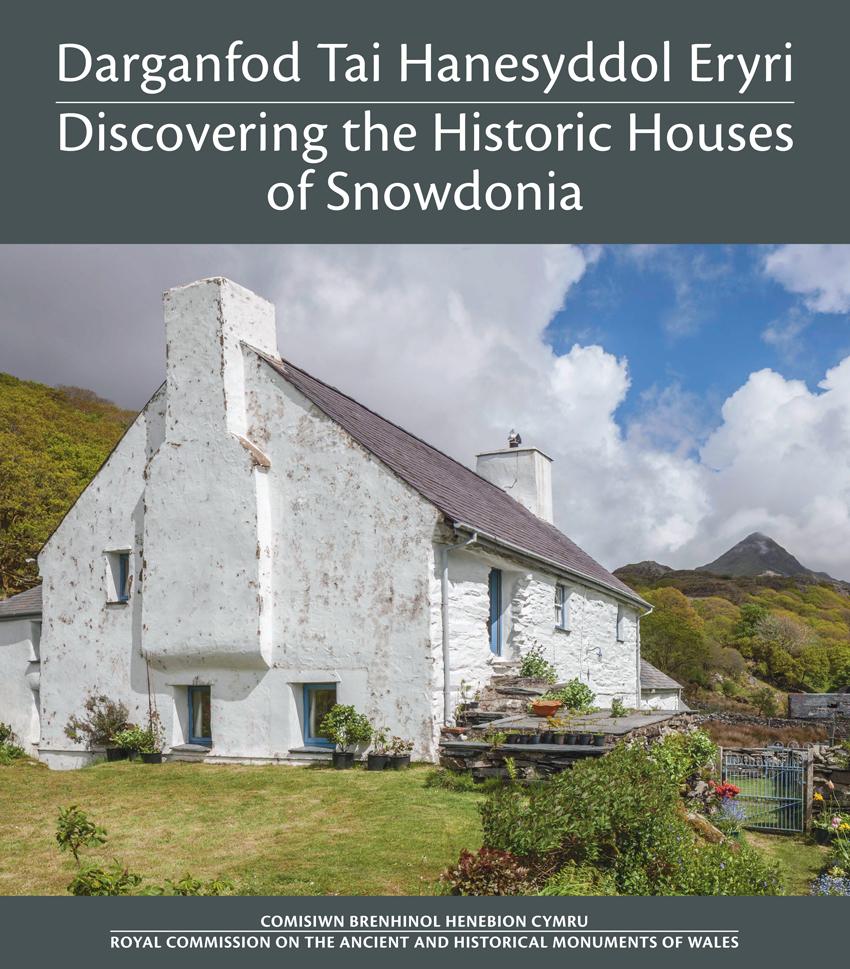 Darganfod Tai Hanesyddol Eryri - Discovering the Historic Houses of Snowdonia ISBN 978-1-871184-53-2