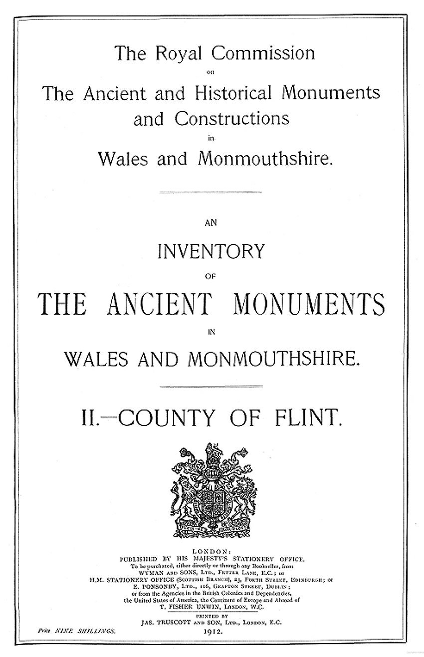 An Inventory of the Ancient Monuments in Wales and Monmouthshire II - County of Flint