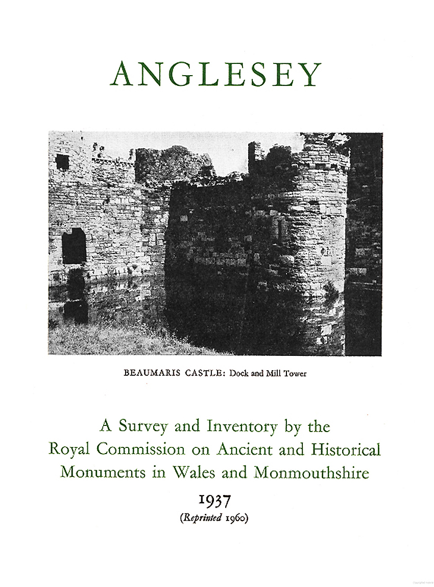 Anglesey - An Inventory of the Ancient Monuments in the County