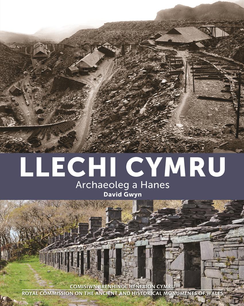 Llechi Cymru Archaeoleg a Hanes ISBN9781871184525