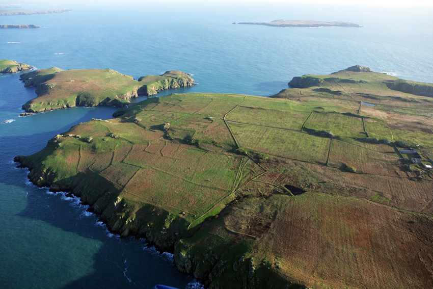 Skomer Island Excavation - RCAHMW National Monuments Record of Wales
