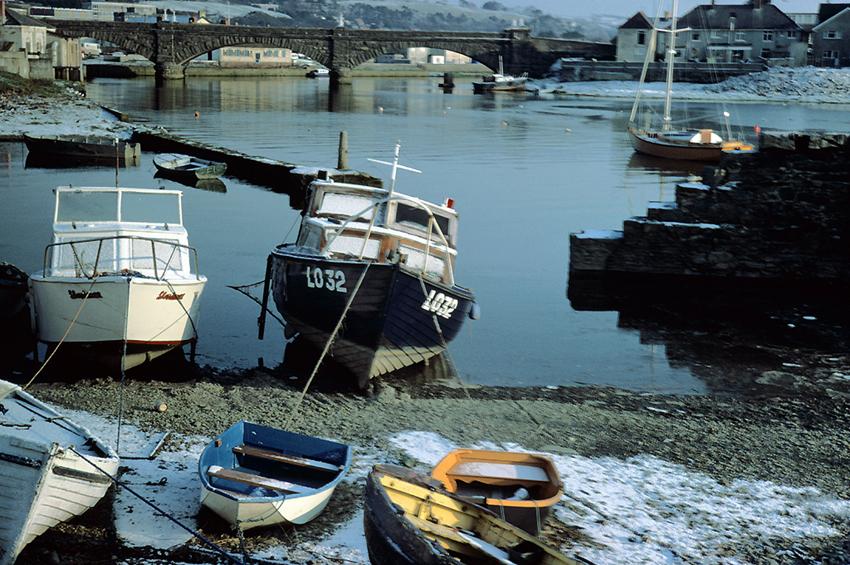 Aberystwyth Harbour, 1985