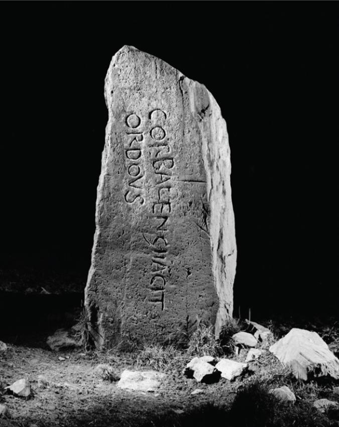 Corbalengi Stone, Penbryn.  DI2008_0439 NPRN 304135
