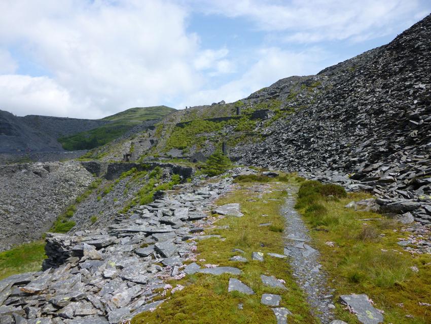 Diffwys Slate Quarry, Blaenau Ffestiniog, Gwynedd. NPRN: 85487 DS2015_223_001 (C.611577)