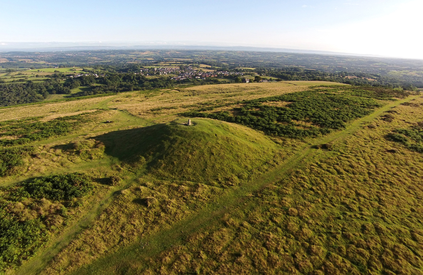 Garth Hill Barrow IV NPRN: 93062 DD2015_009_096 C.610091