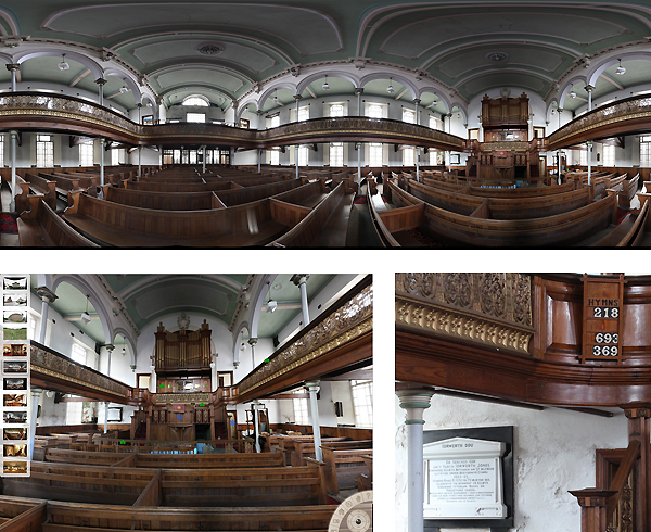Introductory guide to photography, the creation of panoramas and interactive virtual tours