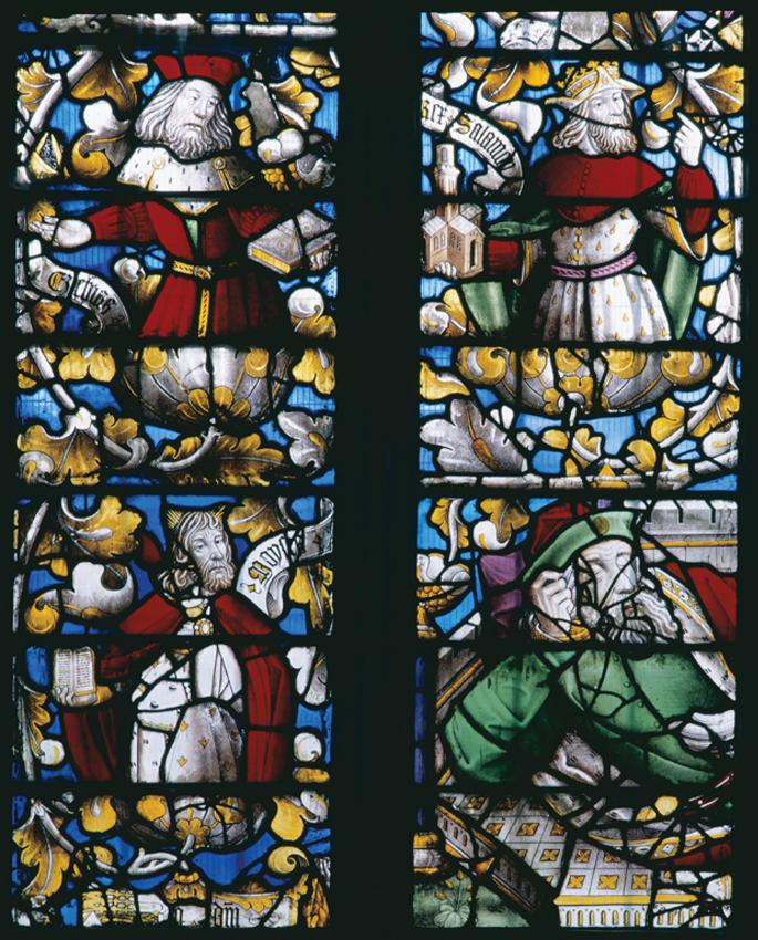 Jesse Tree, St. Dyfnog's Church, Llanrhaeadr-yng-Nghinmeirch. DI2012_0275 NPRN 165239