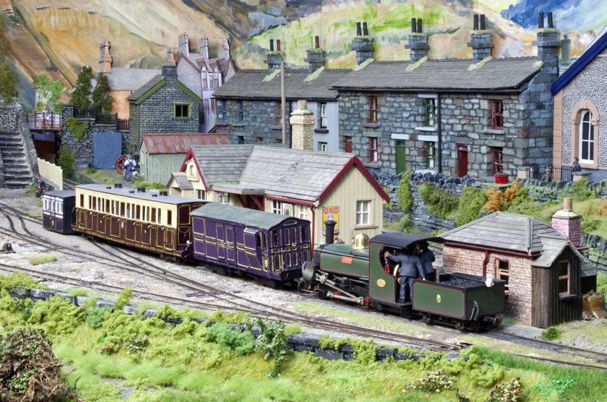 Rhyd, a fictitious branch of the Ffestiniog Railway.