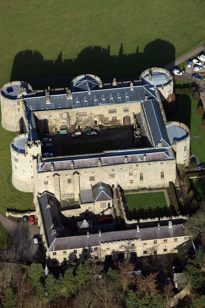 4. Chirk Castle