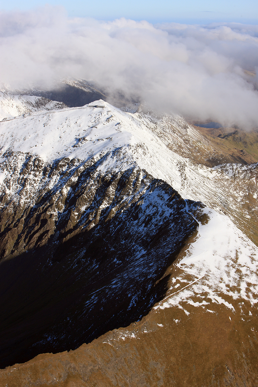 8. Snowdon range in winter