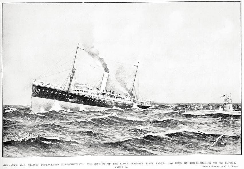 O ddarlun gan C. B. Norton o Gasgliadau Arbennig Syr George Grey, Llyfrgelloedd Auckland, AWNS-19150422-47-2