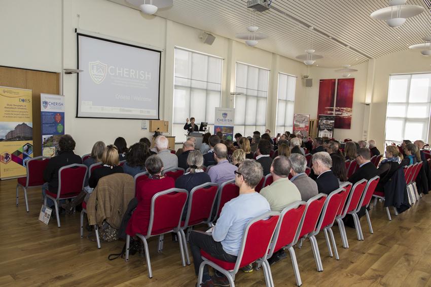 Launch at Aberystwyth University. (©Aberystwyth University)