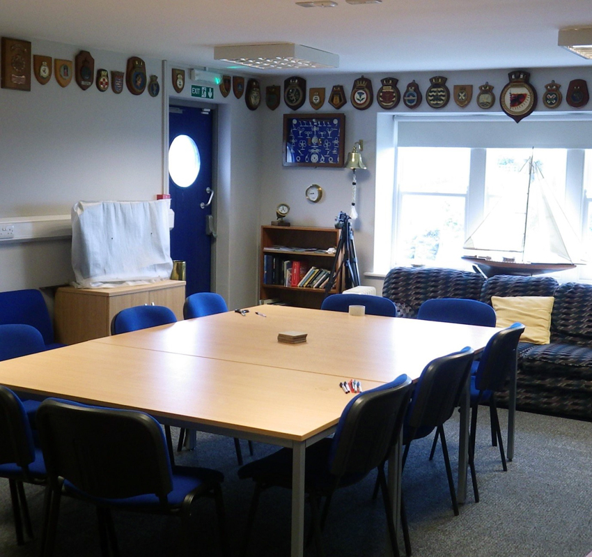 One of the training rooms inside the recently refurbished Stanley Sailor's Home.