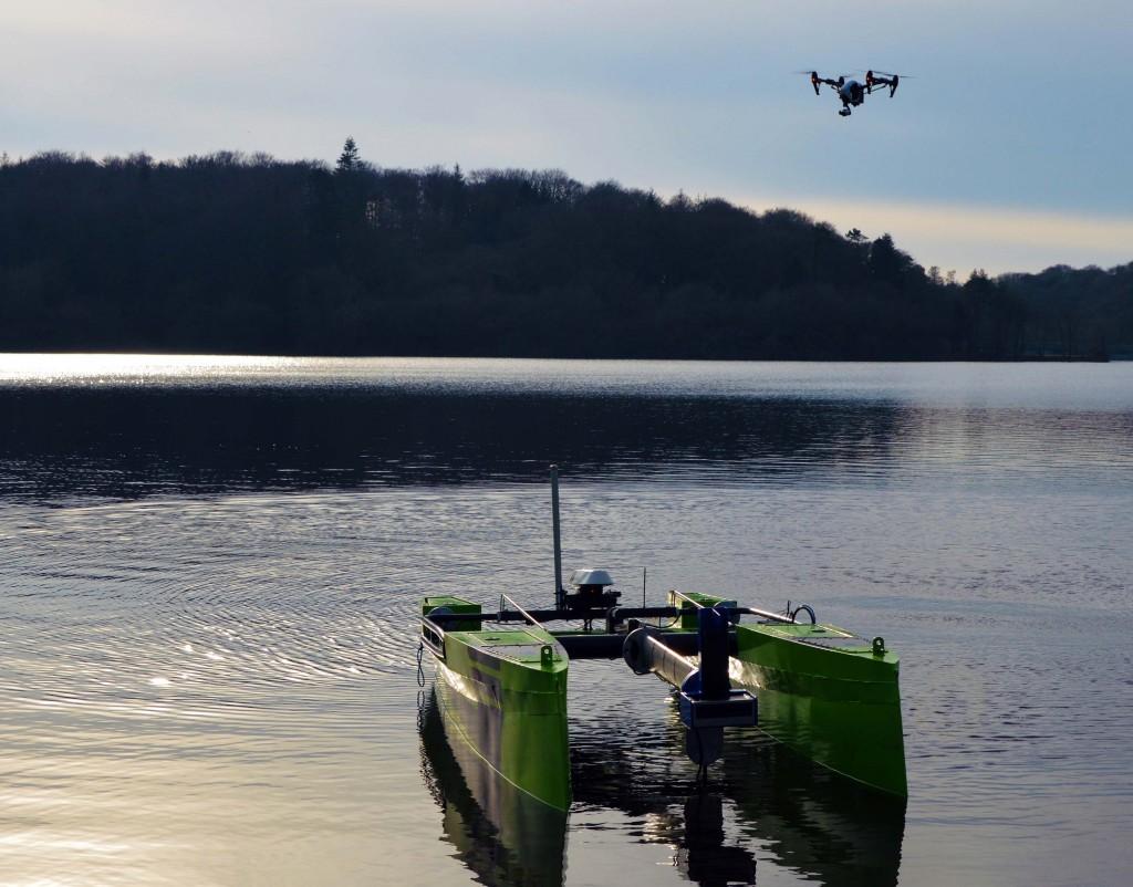 4. Autonomos Surface Vessel and Inspire Quadcopter