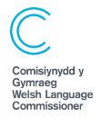 Logo Cefndir Gwyn