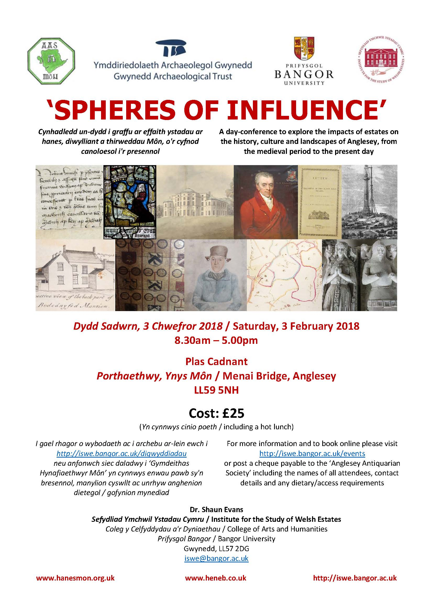 POSTER - 'SPHERES OF INFLUENCE'