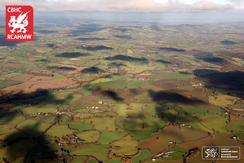 Cloud shadows over Monmouthshire: 29th November 2017