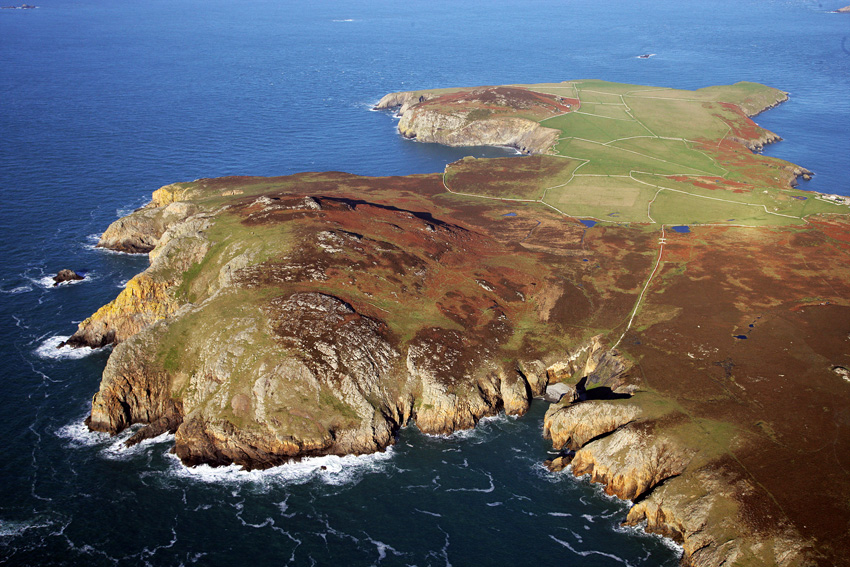 Ramsey Island (Crown Copyright RCAHMW AP_2011_4374)