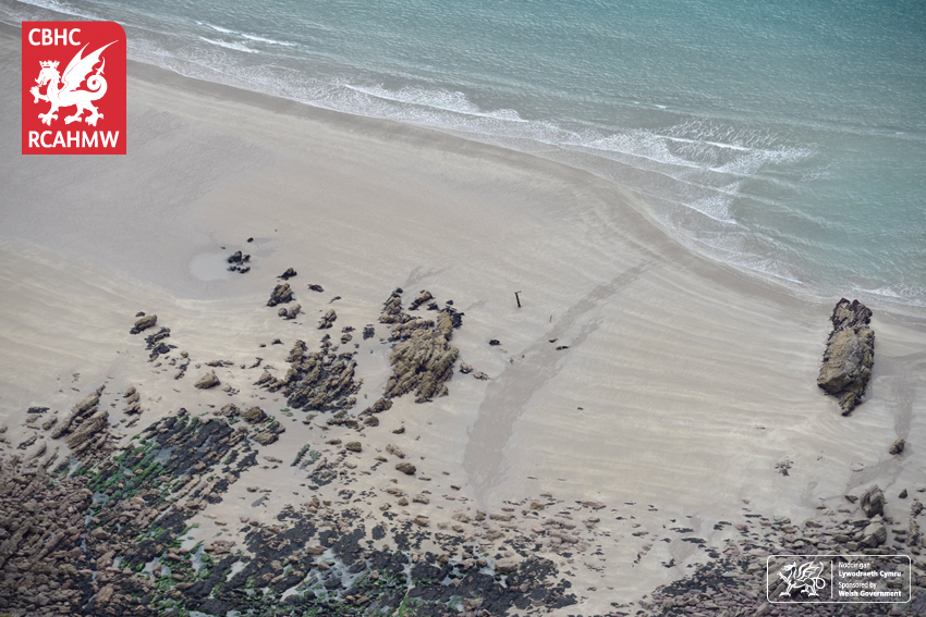 Wreck of the Albion, Albion Sands, 2017