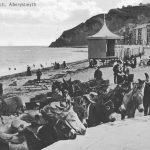 Glan môr Aberystwyth, c.1910