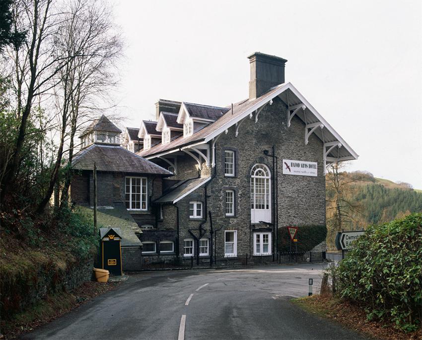 Gwesty'r Hafod Arms, Pontarfynach, Ceredigion.