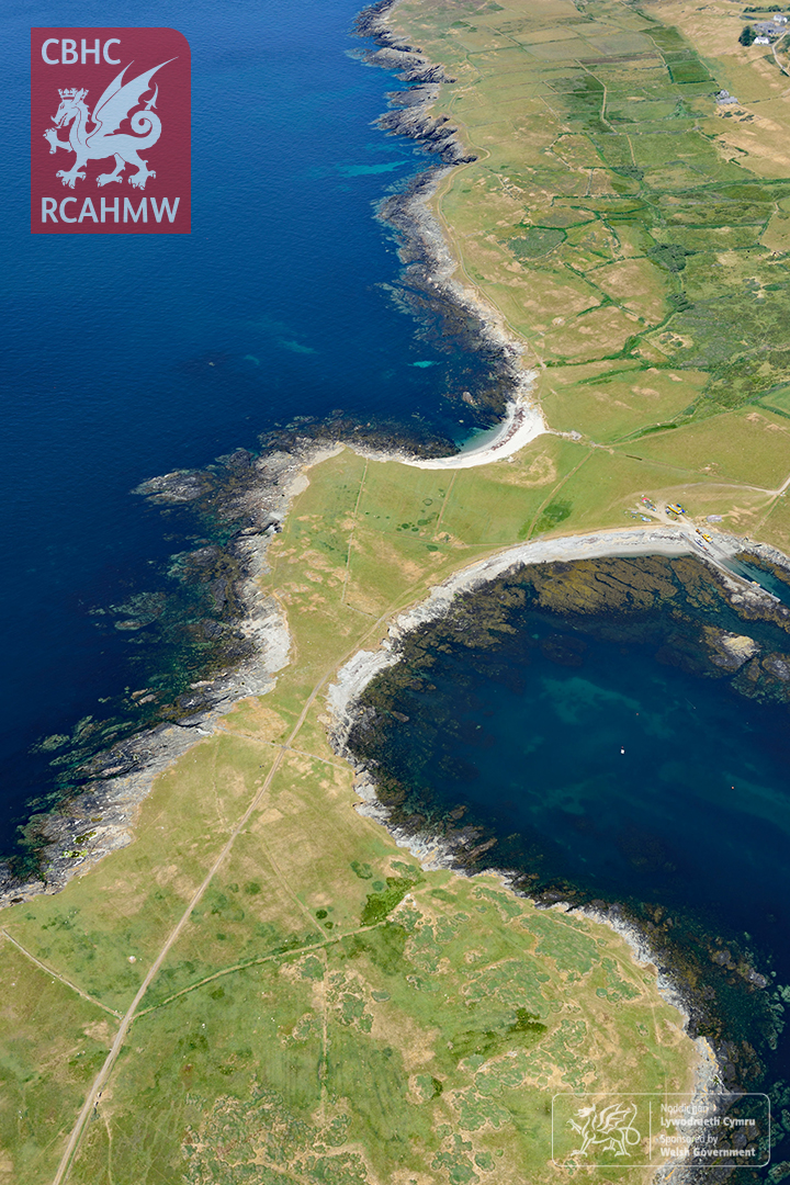 6 – The parched landscape of Bardsey Island (Crown Copyright RCAHMW)