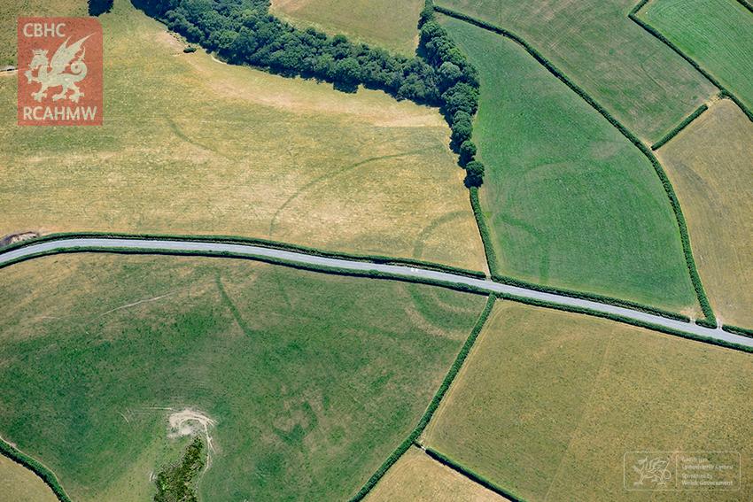 8 – An Iron Age farmstead near Whitland in Carmarthenshire (Crown Copyright RCAHMW)