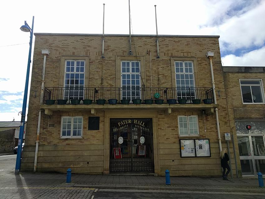 Venue: Pater Hall, Pembroke Dock.