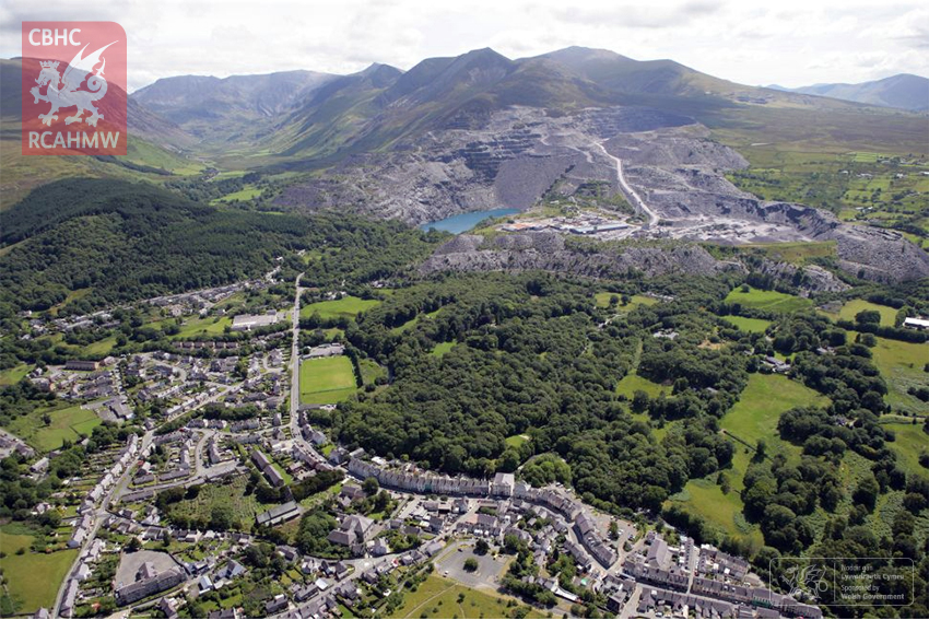 Penrhyn Slate Quarry and Bethesda, and the Ogwen Valley to Port Penrhyn.
