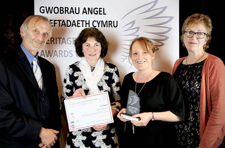 4. Yr Ysgwrn, home of Hedd Wyn, won the award for the Best Rescue of a Historic Building under £5 million. ©Lauren Vickerman Poppet Studios photography.
