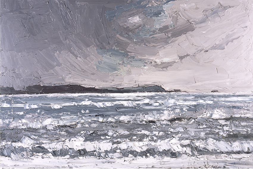 Kyffin Williams, 'Storm from the Beach', © The National Library of Wales