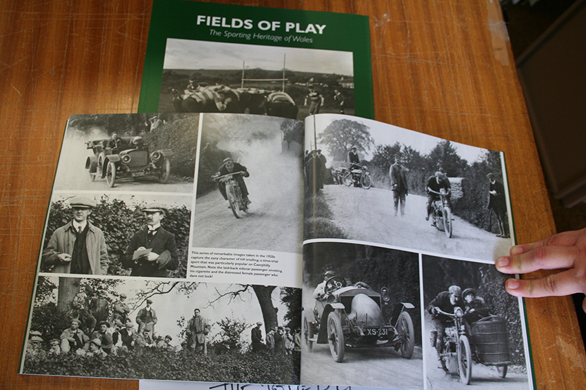 Fields of Play: The Sporting Heritage of Wales (ISBN 978-1-87118-445-7)