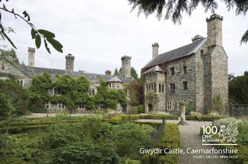 Gwydir Castle, Caernarfonshire DS2007_340_012 NPRN 26555