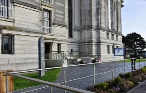 National Library of Wales entrance
