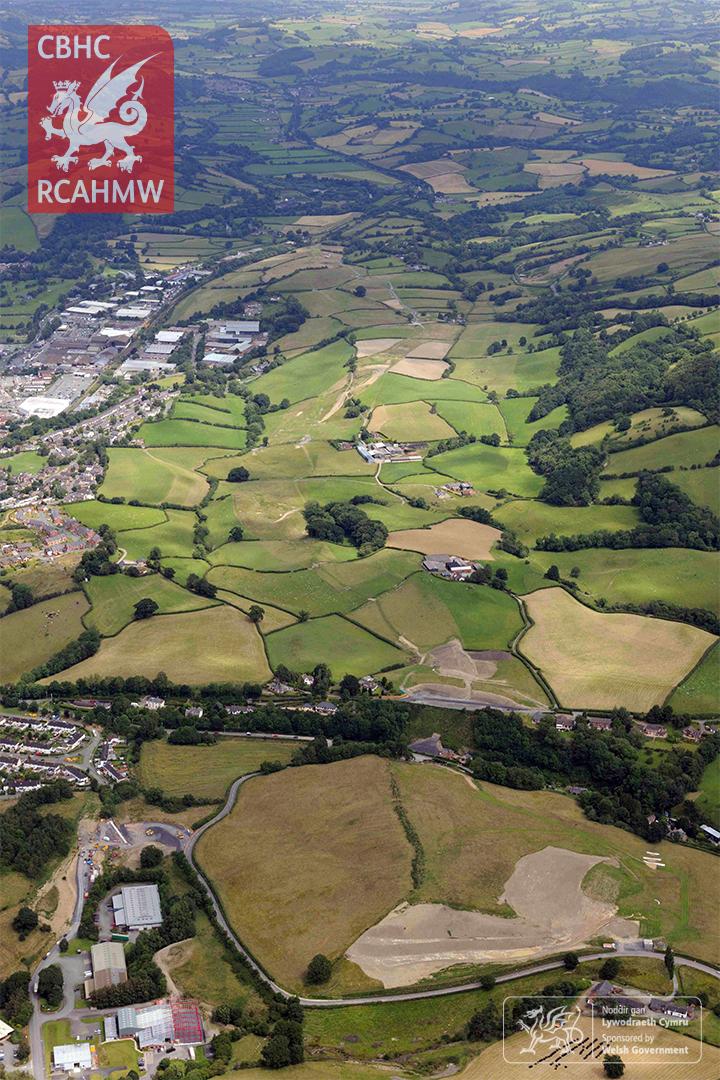 3. Ffordd Osgoi Y Drenewydd: Golygfa tua'r dwyrain Gorffennaf 2016.