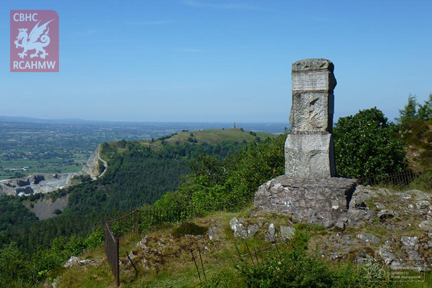 Romany Monument to Ernest Burton, Moel y Golfa DS2018_437_002 C.640158 NPRN: 407823