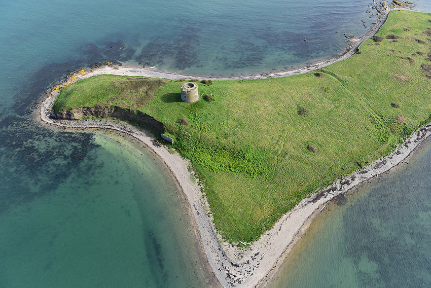 7. Martello Tower on Shenick's Island, Skerries