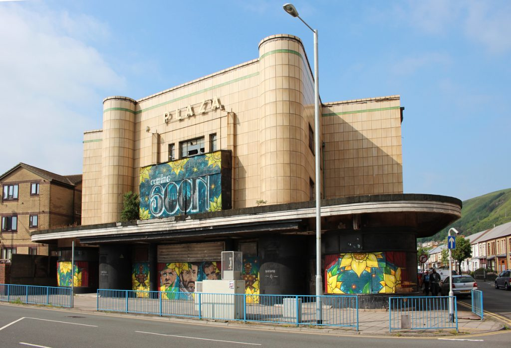 Plaza Cinema, Port Talbot, 2019