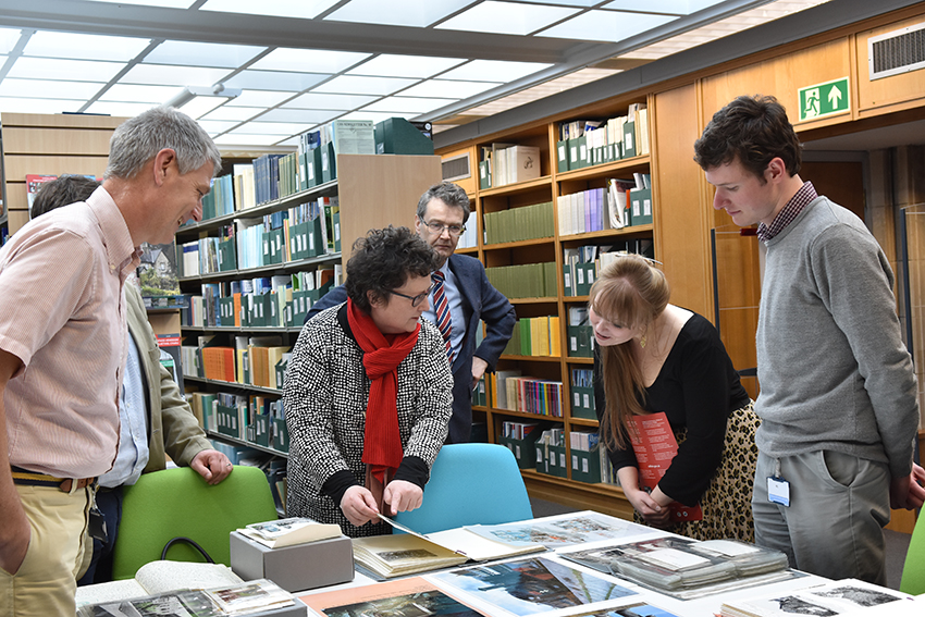 Delyth Jewell AM and Elin Jones AM discuss our work and collections
