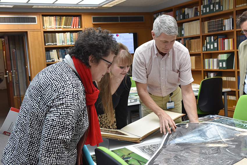 Elin Jones AM and Delyth Jewell AM discuss our work and collections.
