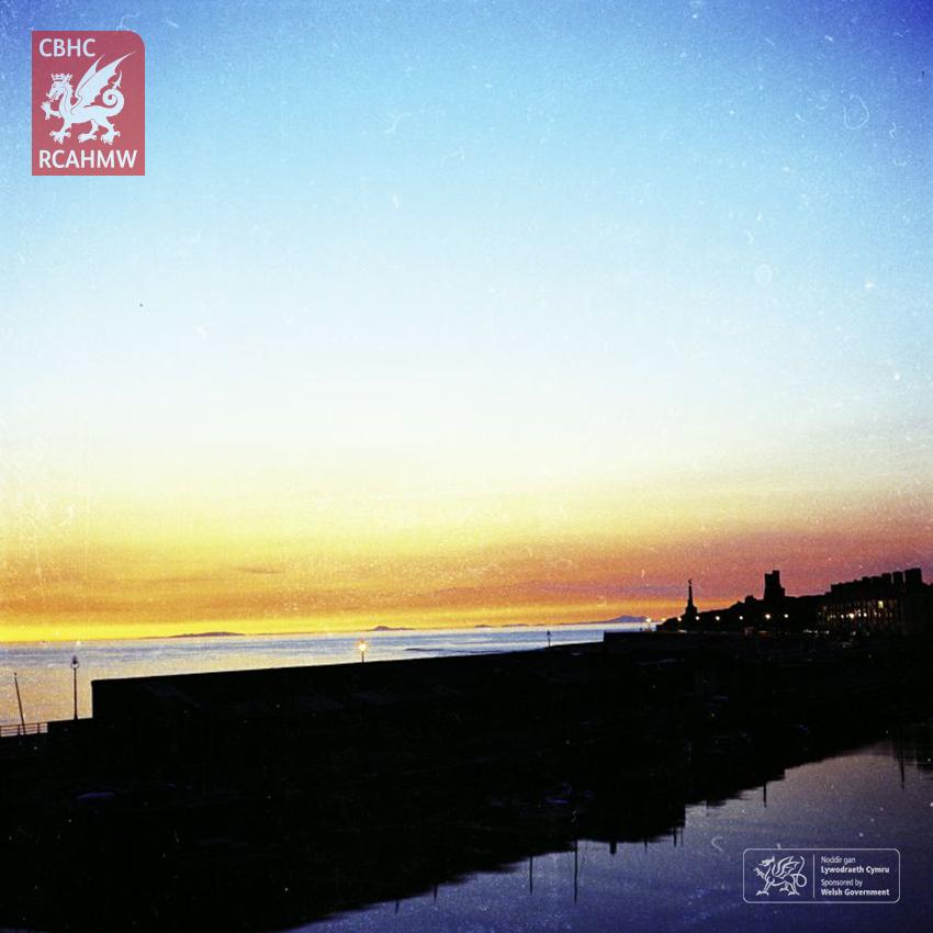 Sunset at Aberystwyth Harbour