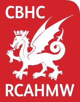 Logo Comisiwn Brenhinol Henebion Cymru