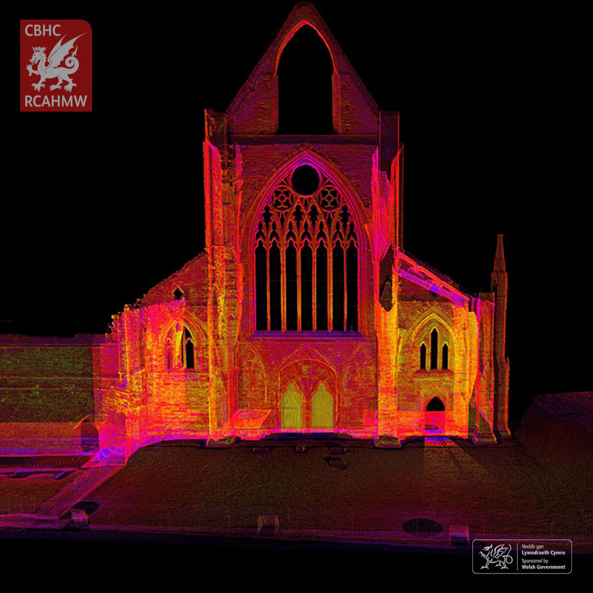 3D image of Tintern Abbey     NPRN: 359