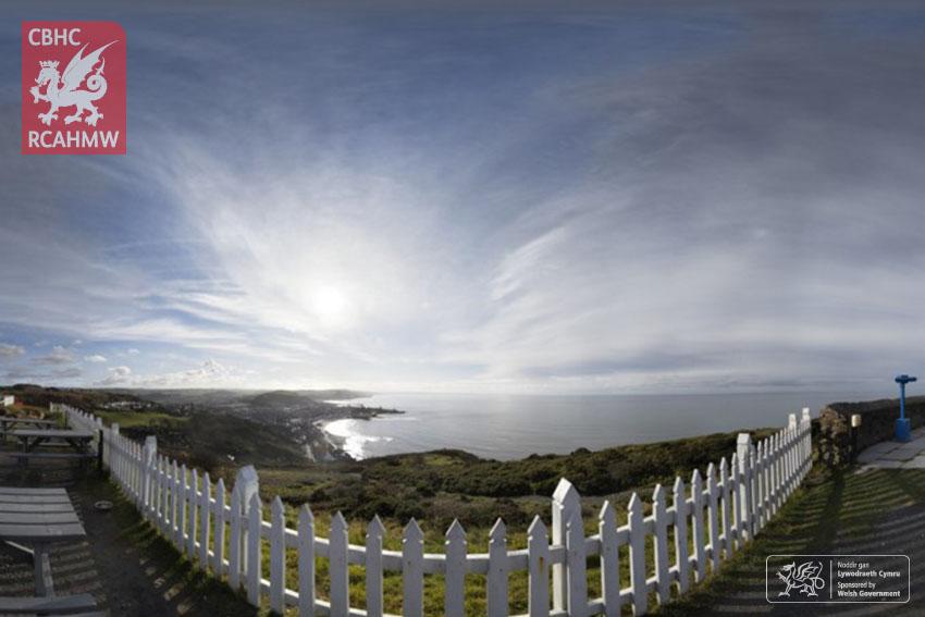 Llun gigapicsel o Graig Glais (Constitution Hill), Aberystwyth      Cyfeirnod ETW_AG_10     C.647274      NPRN: 406177