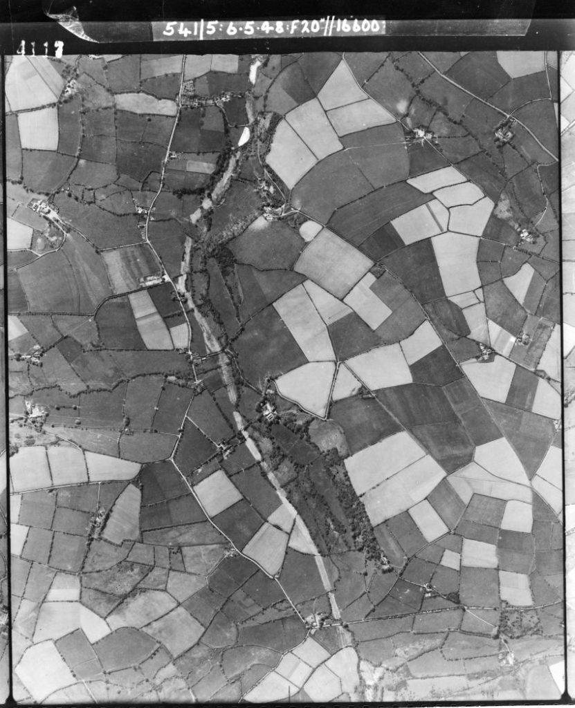 1. Enemy defence lines at Rhydlewis