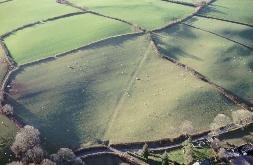 2. Enemy defence lines at Rhydlewis
