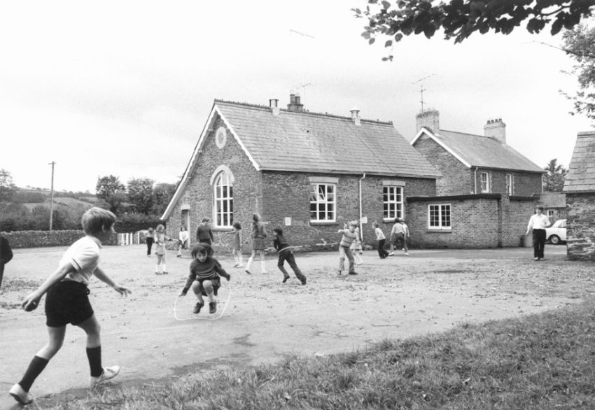 Llangybi primary school